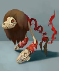 Chupacabra Rpg character design. by metalliam