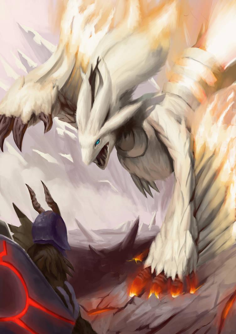 Pokemonster hunter- Reshiram by metalliam