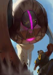 Pokemonster hunter- Deoxys by metalliam