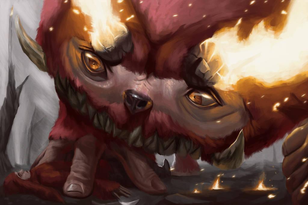 Pokemonster hunter- Darmanitan by metalliam
