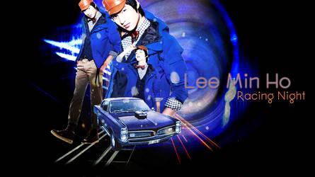 Lee Min Ho Racing Night by kakaren