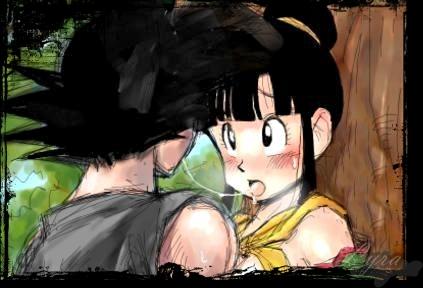 Sorry, that Dragon ball chi chi and goku kiss