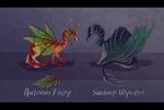 Dragons adopts -CLOSED- by Ayalis-Adopts