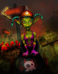 Makka the Goblin Cannonball