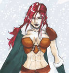 Red Haired warrior...