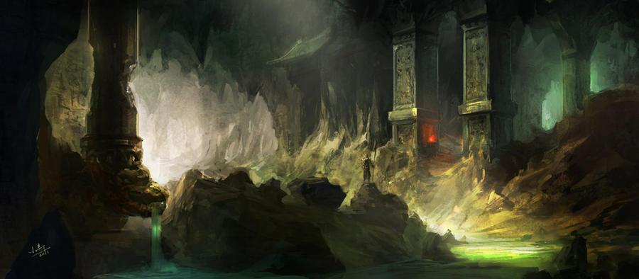 underground by xiaoxinart