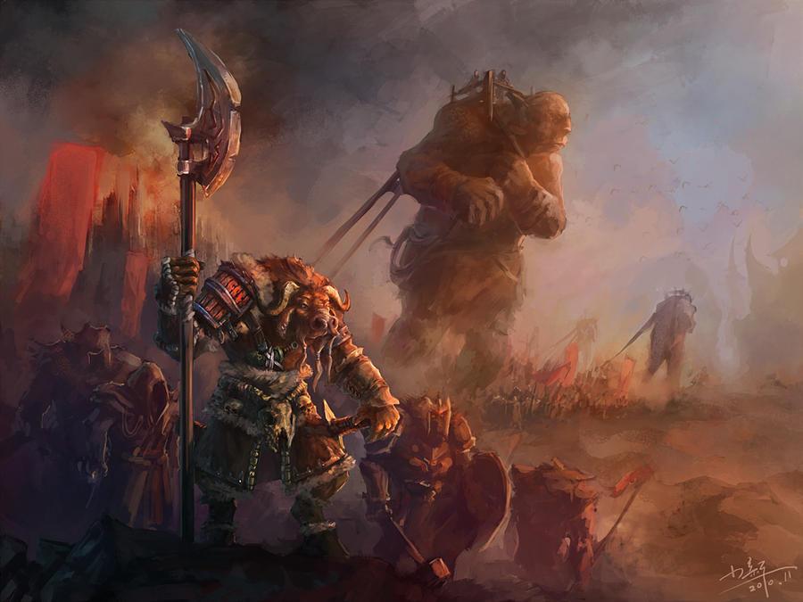 Battleworn Orc by MihaiRadu on DeviantArt