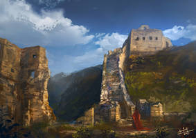 Greatwall by xiaoxinart