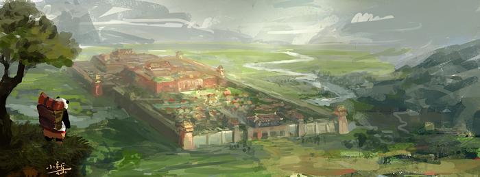 beijing by xiaoxinart