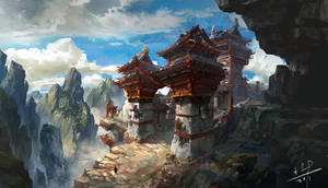 lost temple by xiaoxinart
