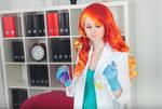 Sunset Shimmer Cosplay - Lab Version