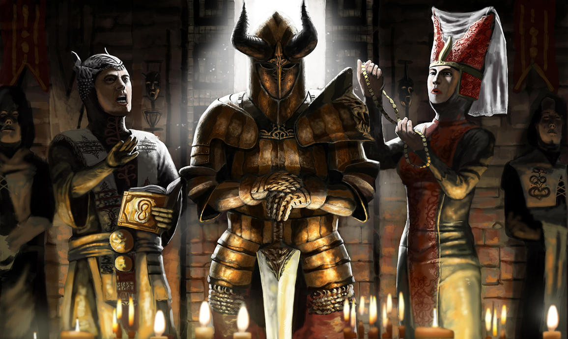 Warrior's Blessing by Skaya3000
