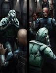 EclipsePhase: Transhuman Interior by Skaya3000