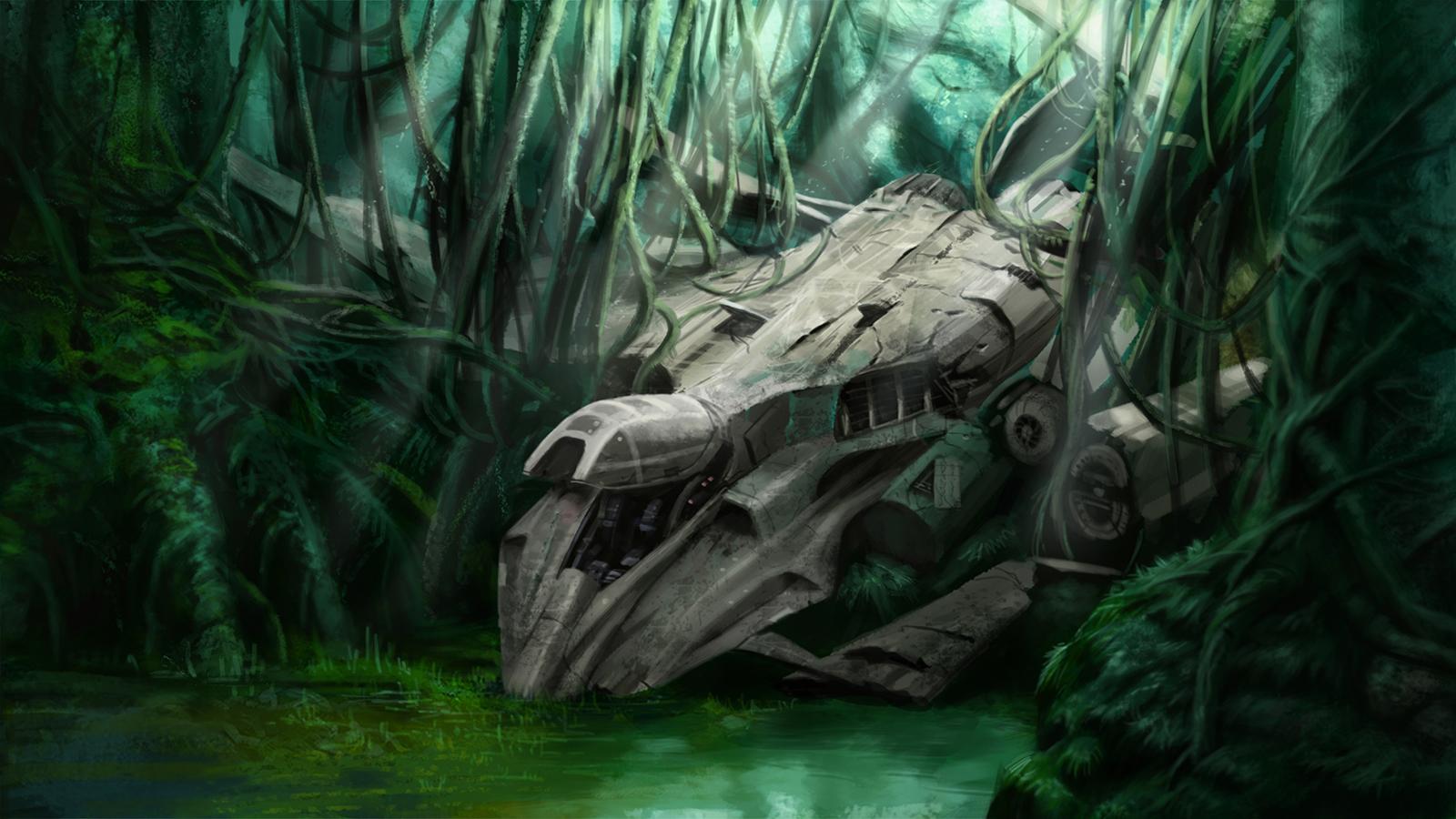 Crash Site by Skaya3000