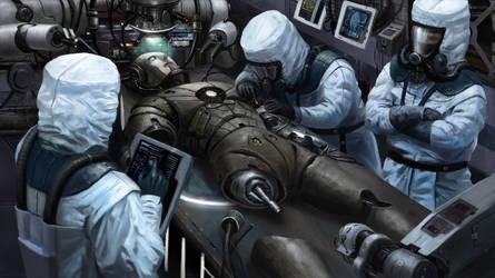 Cyborg Lab by Skaya3000