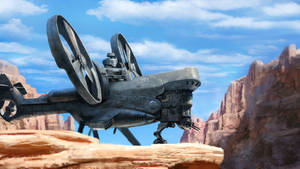 Transport Gunship by Skaya3000