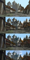 Elven Town step by step