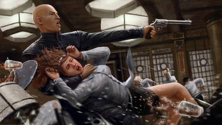 Gun Fight by Skaya3000