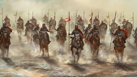Cavalrymen by Skaya3000