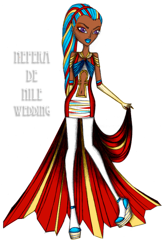 Nefera de nile wedding day by mitsu chiruno on deviantart - Nefera de nile ...