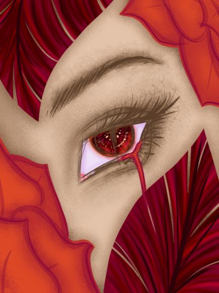 Crimson Eye by Mitsu-Chiruno