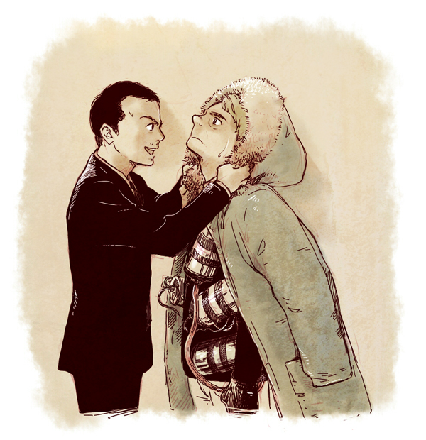 Moriarty and John by bennai