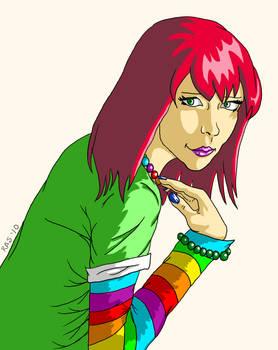 Rainbow Rays OC Zoe