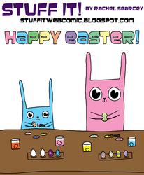 Stuff It Happy Easter by Miskatonika