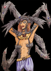Tales of Witchblade Princess Raquel colored