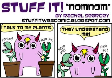Stuff It Nomnom by Miskatonika