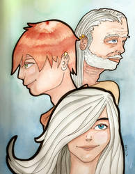 Secret of Kells characters