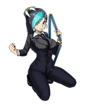 OnePunch Man : Lily of the three section staff