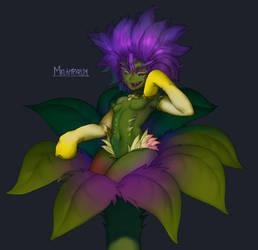 Melampyrum Monster girl by TheGoldenSmurf