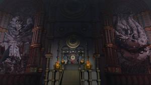 Hero and Demon King - Throne room