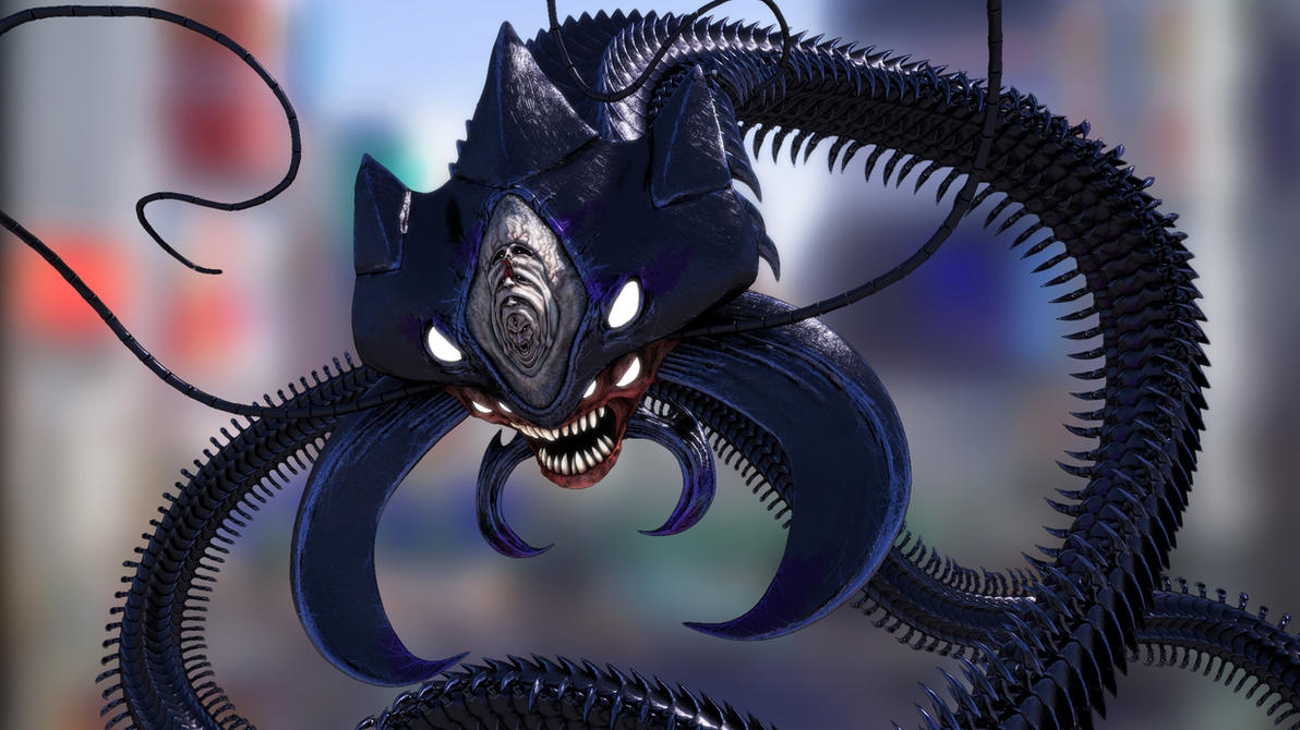 3D Elder Centipede - render + sketchfab link by ...