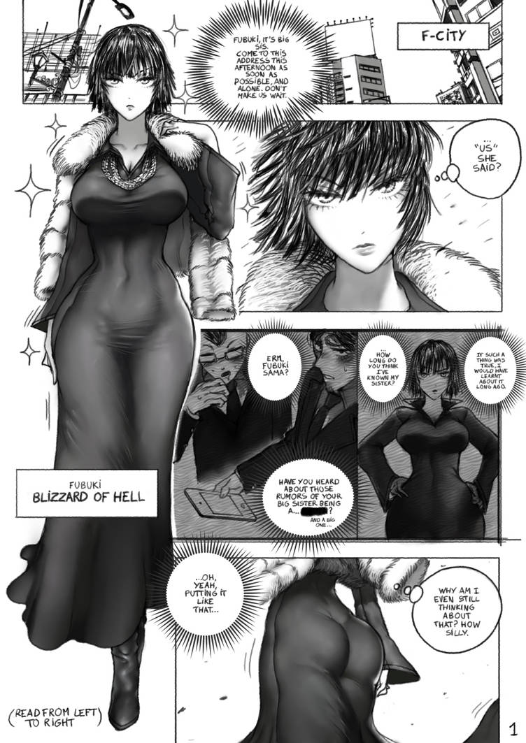 OnePunch Man doujin - page 1 by TheGoldenSmurf