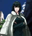 Fubuki - custom Anime frame by TheGoldenSmurf