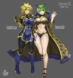 Dimaria and Brandish (Fairy Tail) by TheGoldenSmurf