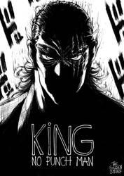 King (OnePunch Man) by TheGoldenSmurf
