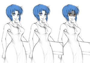 Chie Rumiko (Higurashi) - sketch