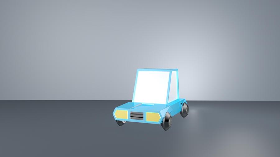 My first car in cinema 4d by alin123d