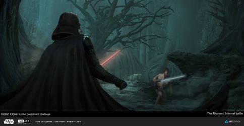 Star Wars The Moment ILM Art department challenge