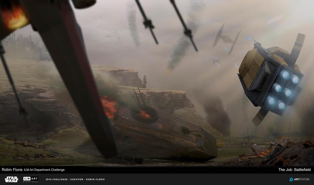 Battlefield by FlorieInk