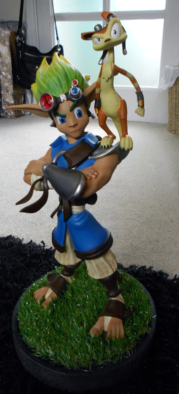 Jak and daxter statue unboxed by TheOttselMaster