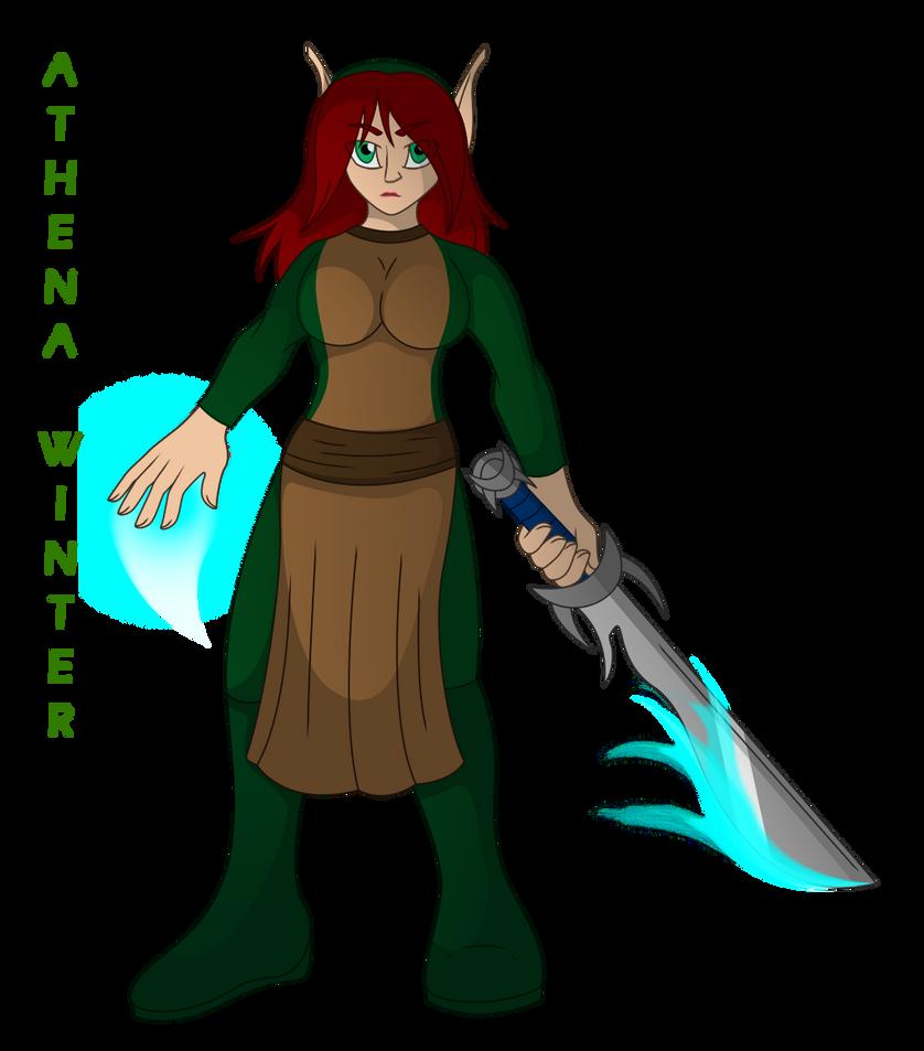 Athena Precursor Warrior by TheOttselMaster