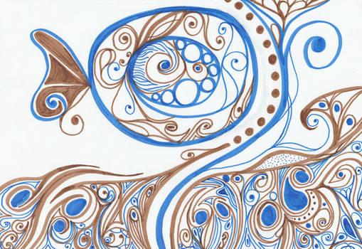 Ornament 16: Fish Tail