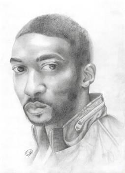 Graphite 1: Anthony Mackie (Portrait 1)