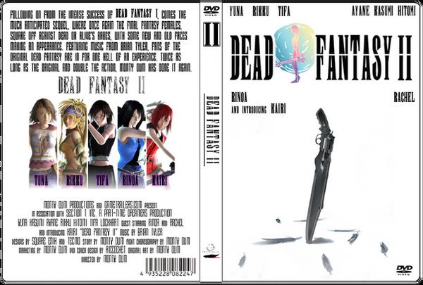My personal Dead Fantasy 2 DVD by DatKofGuy on DeviantArt