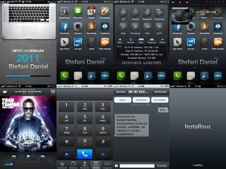 iPhone 4 MP2 HD Theme