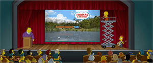 Lisa Simpson wants to save Thomas and Friends
